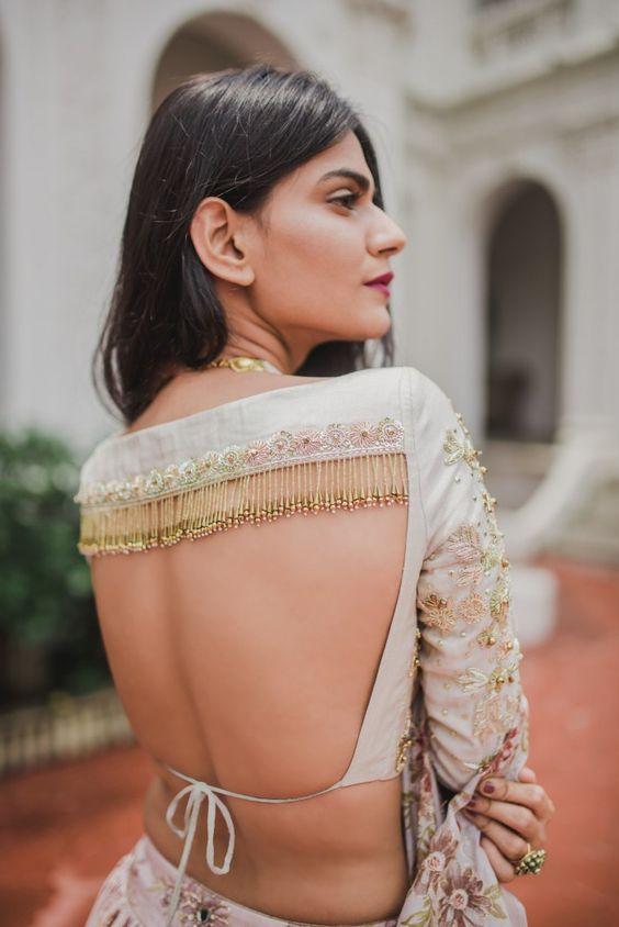 PunjabKesari, Blouse Design for saree,ब्लाउज डिजाइन फॉर साड़ी