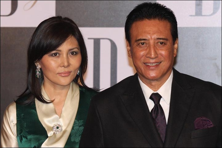 Bollywood Tadka, Danny Denzongpa With Wife