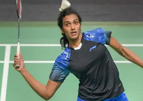 PunjabKesarisports PVsindhu, Badminton player image photo