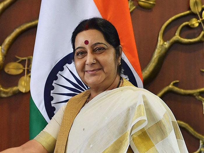 PunjabKesari,sushma swaraj