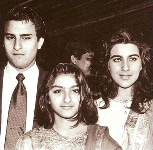 PunjabKesari, Saif And Amrita Images