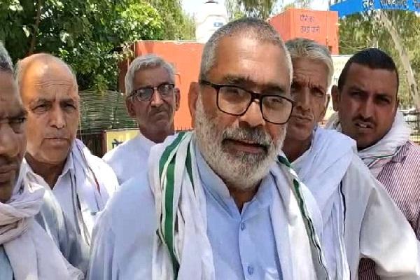 PunjabKesari, Farmer, Protest, Non-purchase, Crop