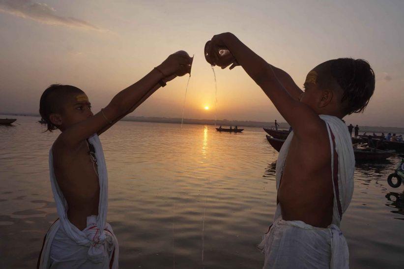 PunjabKesari, Surya Arghya, Surya Dev, Lord Surya, सूर्य अर्घ्य, सूर्य देव