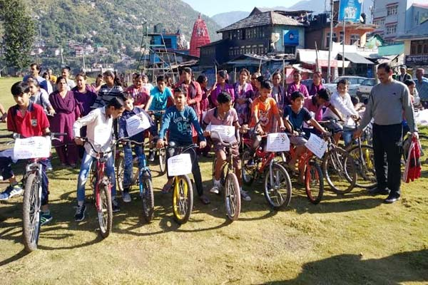 PunjabKesari, Cycle Rally Image