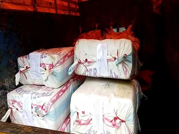 PunjabKesari, Ratlam Police, Drugs, 27 lakhs of ganja seized, SP Gaurav Tiwari, Ratlam, Punjab kesari