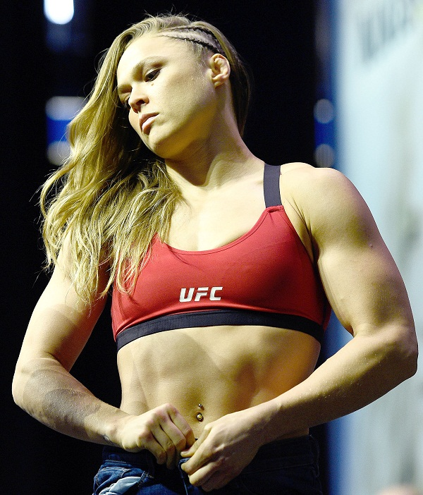 Ronda Rousey Teases Pregnancy Planning