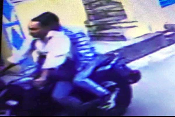 PunjabKesari, CCTV Footage Image