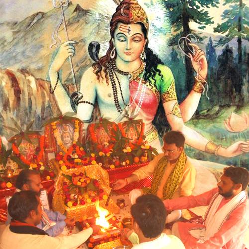 PunjabKesari, अर्द्धनारीश्वर, Ardhanarishvara