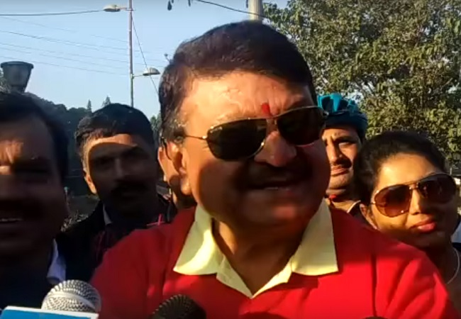 PunjabKesari, Madhya Pardesh Hindi News, Indore Hindi News, Indore Hindi Samachar, BJP, Kailash Vijayvargeeya, Attack, Congress