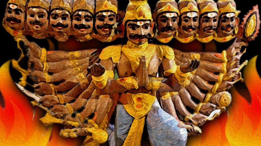 PunjabKesari, Dussehra 2020, Dussehra, Sri Ram, Ravana, Vijayadashmi, Vijayadashmi 2020, Ravana is worshiped in Sangola, Ravana is worshiped in Maharashtra, Maharashtra Ravana Village, Dharmik Sthal, Religious Place in india, Hindu Teerth Sthal, हिंदू धार्मिक स्थल