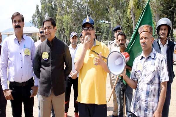 PunjabKesari, Bicycle-Bike Rally Image