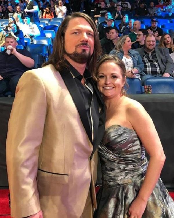 Punjab kesari sports WWE Star wifes AJ Styles Hot wife