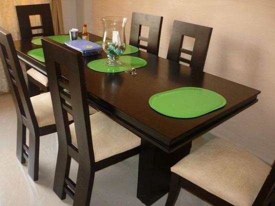 PunjabKesari, शीशे के डाइनिंग  टेबल इमेज, राउंड शेप डाइनिंग  टेबल इमेज, खूबसूरत डाइनिंग टेबल इमेज,latest dining  table image