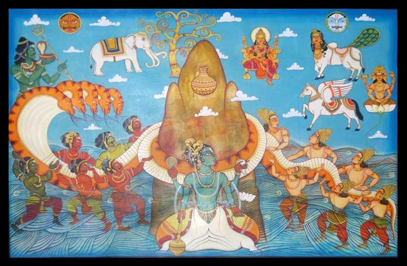 PunjabKesari, समुद्र मंथन, Samudra Manthan, Devi Lakshmi, देवी लक्ष्मी