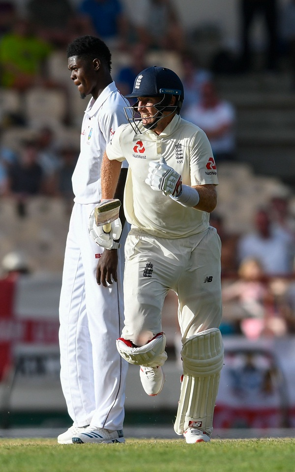 Shannon Gabriel say GAY to Joe Root