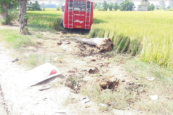 PunjabKesari, 3 died in road accident
