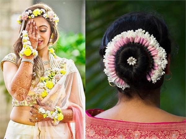 Bridal Trend: सिर्फ बालों में ही नहीं, डिफरेंट स्टाइल में वियर करें Gajra