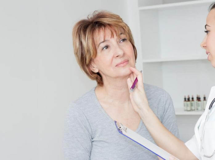 PunjabKesari, Thyroid Image, Thyroid Symptoms Image