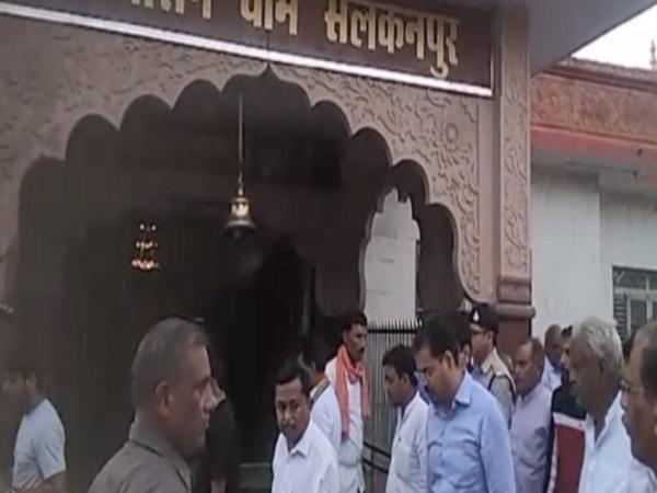 PunjabKesari, Salakanpur, Nasrullaganj, Sehore, Durga Temple, Cabinet Minister Arif Akeel, Security System, Congress, Navratri