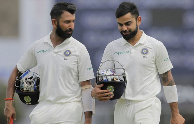 kohli and pujara image