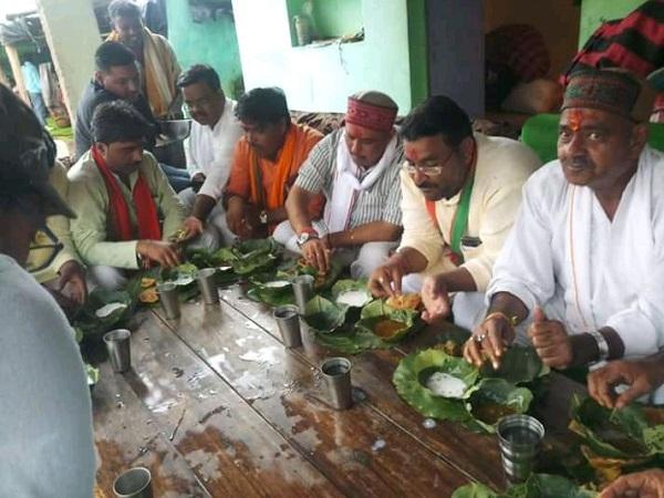 PunjabKesari, Madhya Pradesh News, Ashoknagar News, Ram Janaki Mandir, BJP MP KP Yadav, Gandhi Sankalp Yatra, Mungaoli Assembly