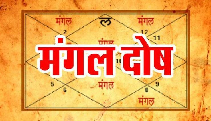 PunjabKesari, मंगल दोष, Mangal Dosh