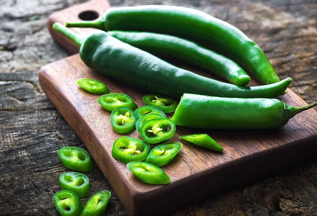 PunjabKesari, nari, green chilli, green chilli benefit