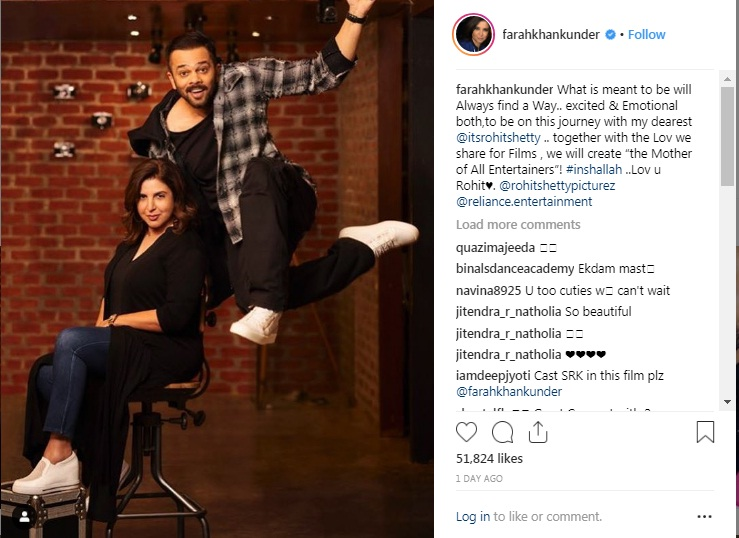 Bollywood Tadka,रोहित शेट्टी इमेज, फराह खान इमेज