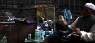 barbers shops closed in kashmir