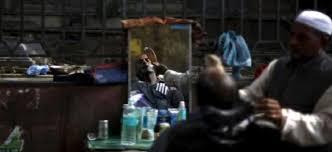 barbers shops closed in kashmir