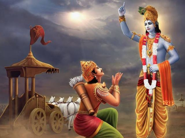 PunjabKesari, Shrimad bhagwat geeta, Bhagwat geeta, Shrimad bhagwat geeta gyan, Sri krishna, Arjun, Mahabharat, Hindu Shastra, Shastra Gyan, Religious Concept