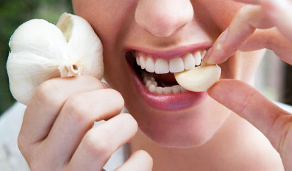 PunjabKesari.nari , teeth cavitis, Garlic, images
