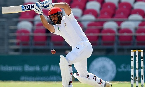 Rahmat Shah becomes first afghan batsman to score century in test