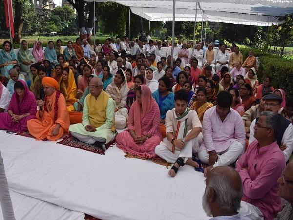 PunjabKesari, Madhya Pradesh News, Gwalior News, Rajmata Vijayaraje Scindia, 10th Jubilee, Jyotiraditya Scindia, Yashodhara Raje Scindia, Vasundhara Raje Scindia, BJP, Congress