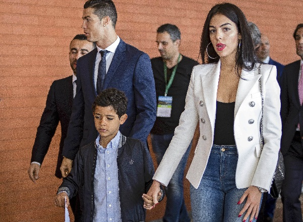 it was 'love at first sight when i see ronaldo : Georgina Rodriguez