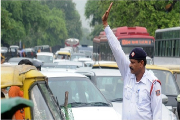 traffic police will be vigilant in the city on diwali