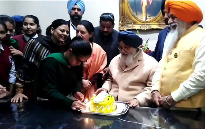 PunjabKesari, birthday celebration of parkash singh badal