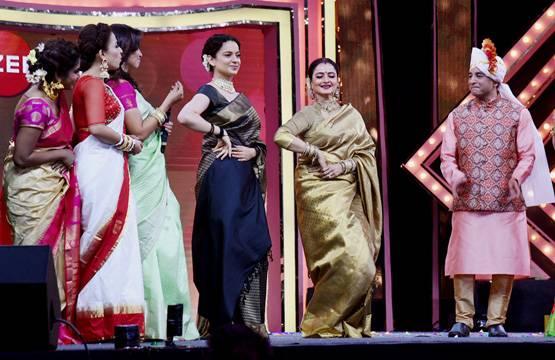 Bollywood Tadka, कंगना रनौत इमेज, रेखा इमेज, अवॉर्ड शो इमेज, स्पेशल बॉन्डिंग इमेज, सरोज खान इमेज