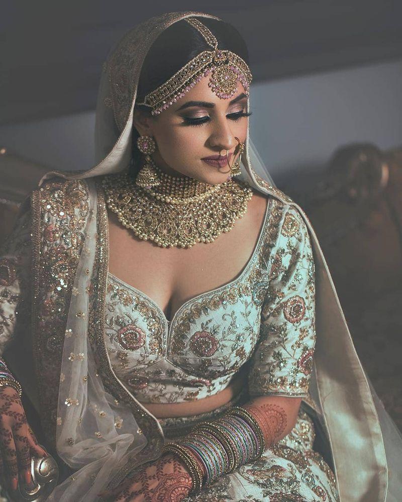 PunjabKesari, Lehenga Blouse Designs Image