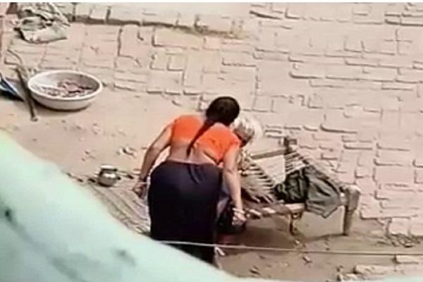 PunjabKesari, elderly, Woman, Police, Justice