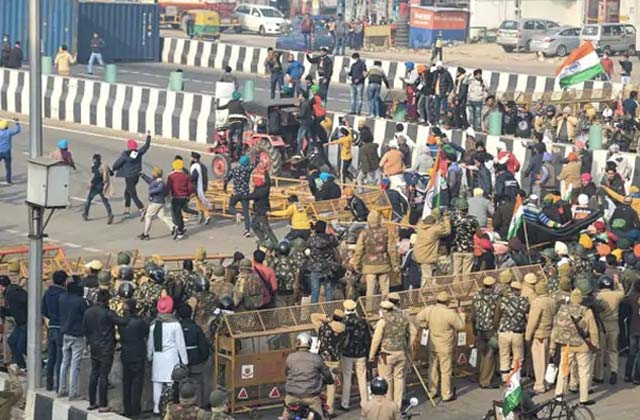 PunjabKesari, if farmer leader caught is the plan of the unions