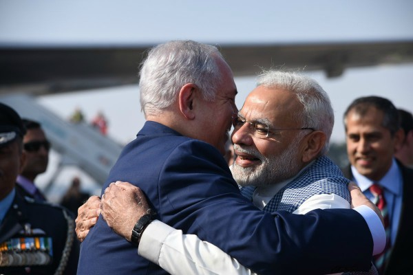 israeli pm on 6 day visit to india