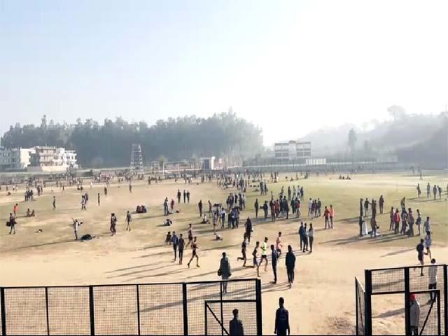 PunjabKesari, Army Rally Practice Image