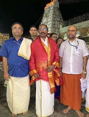 PunjabKesari,  इसरो चीफ के. सिवन, ISRO chief K Sivan, GSLVMkIII-M1,ISRO launches Chandrayaan 2, Chandrayaan 2, चंद्रयान-2