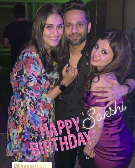Sakshi Dhoni Birthday
