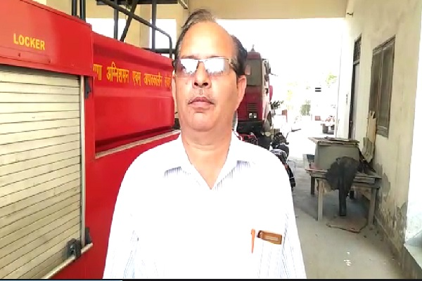 PunjabKesari, haryana hindi news, bahadurgarh hindi news, fire brigade, fire, farmers, agricultural department, fire service department, water supply