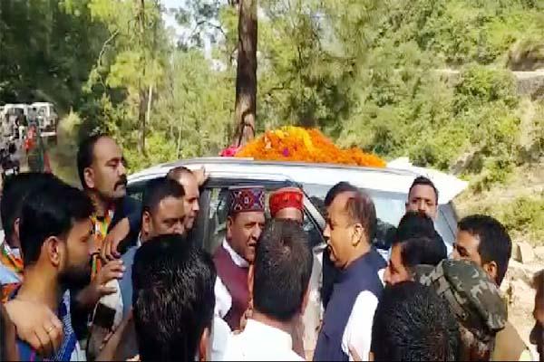 PunjabKesari, Rajeev Bindal And CM Jairam Thakur Image