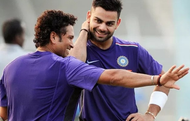 Sachin Tendulkar, Virat Kohli, Indian Cricket Team, Records, Cricket News in hindi, Prithvi Shaw, कोहली पर बोले सचिन, कहा- उसकी तुलना मेरे मत करो, मेरा दाैर अलग था