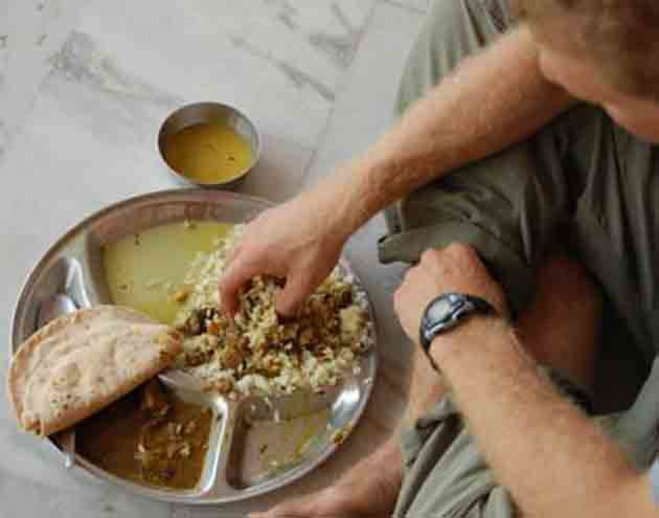 PunjabKesari, Eating and sitting on the ground, beneficial for health