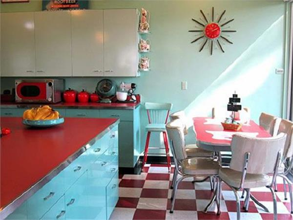Interior Decor: मॉर्डन किचन को यूं दें Retro Look, दिखेगी स्टाइलिश
